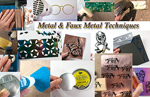 Metal & Faux Metal Stamping Techniques
