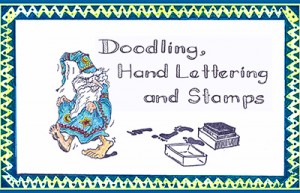 Doodling, Hand Lettering & Stamps eArticle Cover