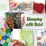 Stamping with Paint eArticle