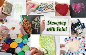 Stamping with Paint eArticle Cover