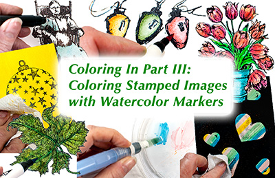 Watercolor Markers eArticle
