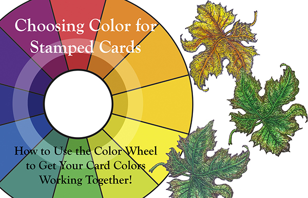 Choosing Color for Stamped Cards Cover