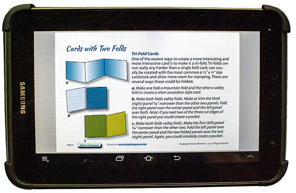 pdf eArticle on Tablet