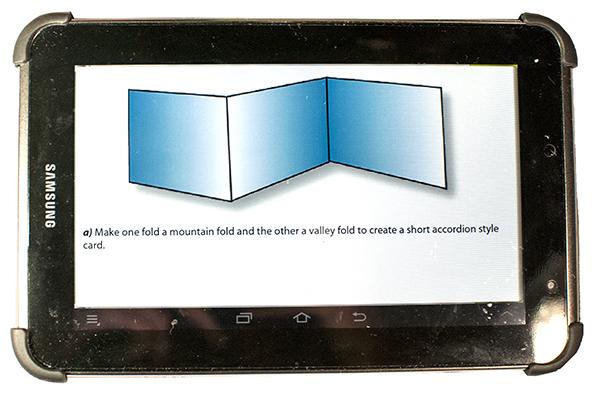 epub eArticle on Tablet horizontal