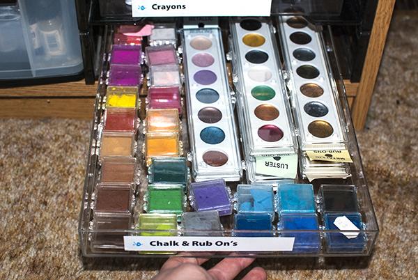 Chalk Storage Drawer