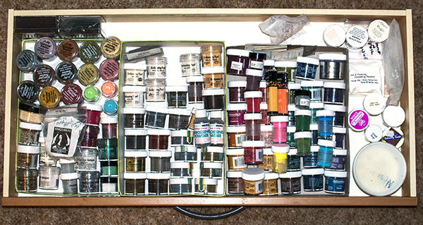 Embossing Powder Drawer