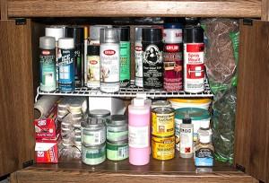 Spray Storage