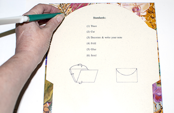 Tracing Envelope Template