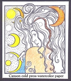 watercolor paper Sampler