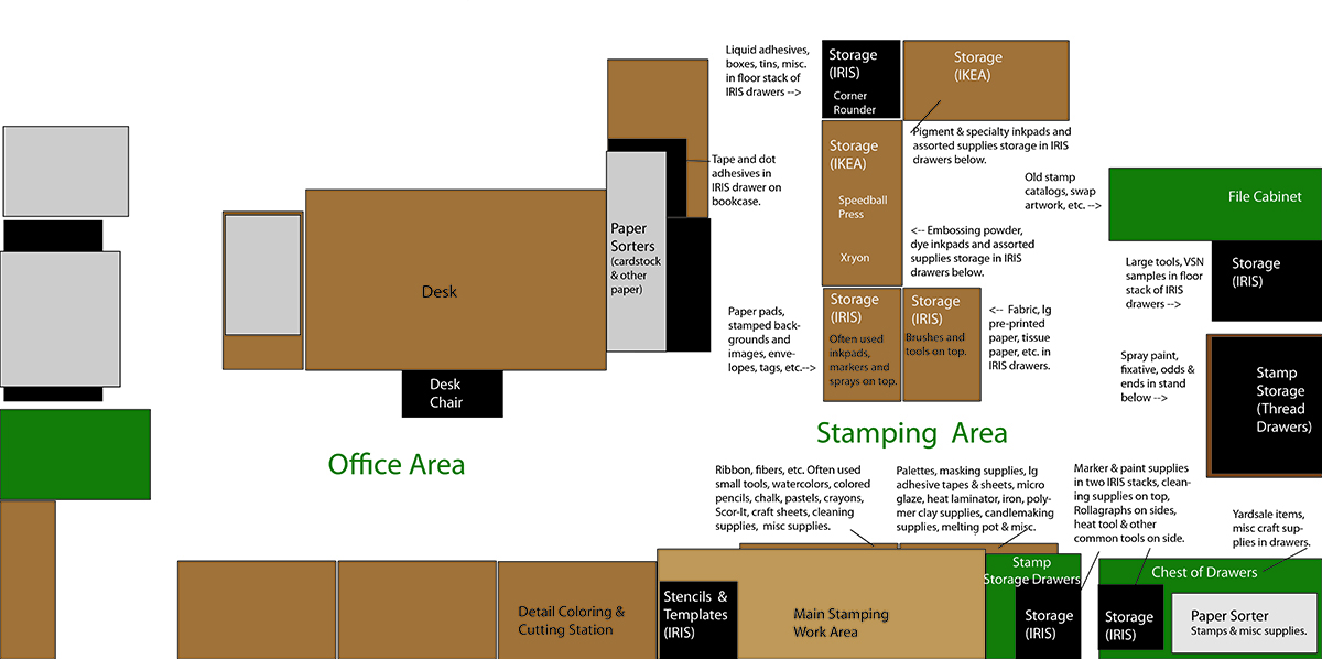 Stamp Area Floorplan