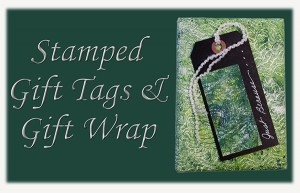 Stamped Gift Tags & Gift Wrap eArticle Cover