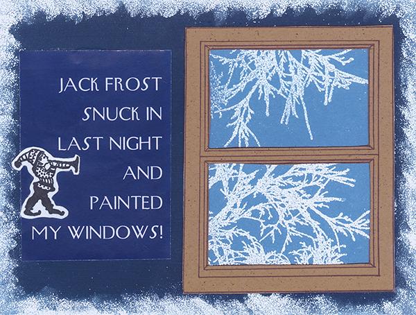 Jack Frost Window