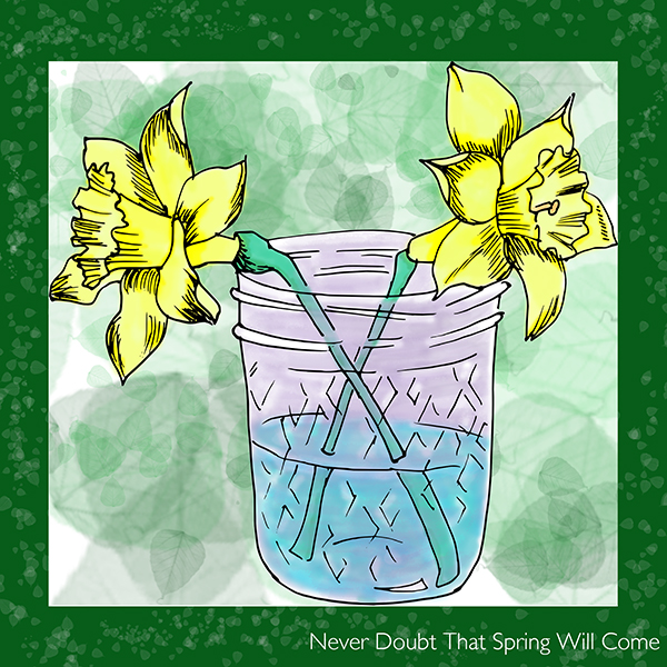 Daffodil Digital Card