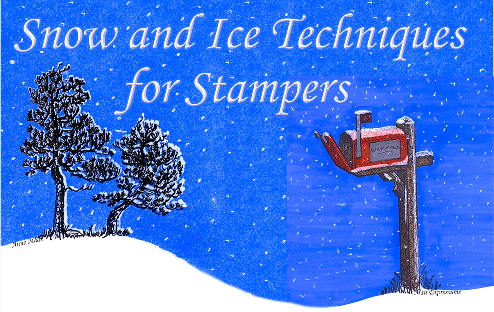 VSN's Snow & Ice Techniques for Stampers Cover